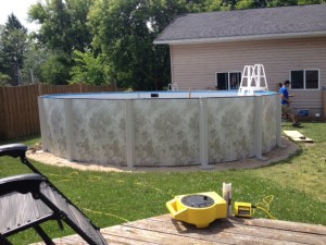 Pool Almost there