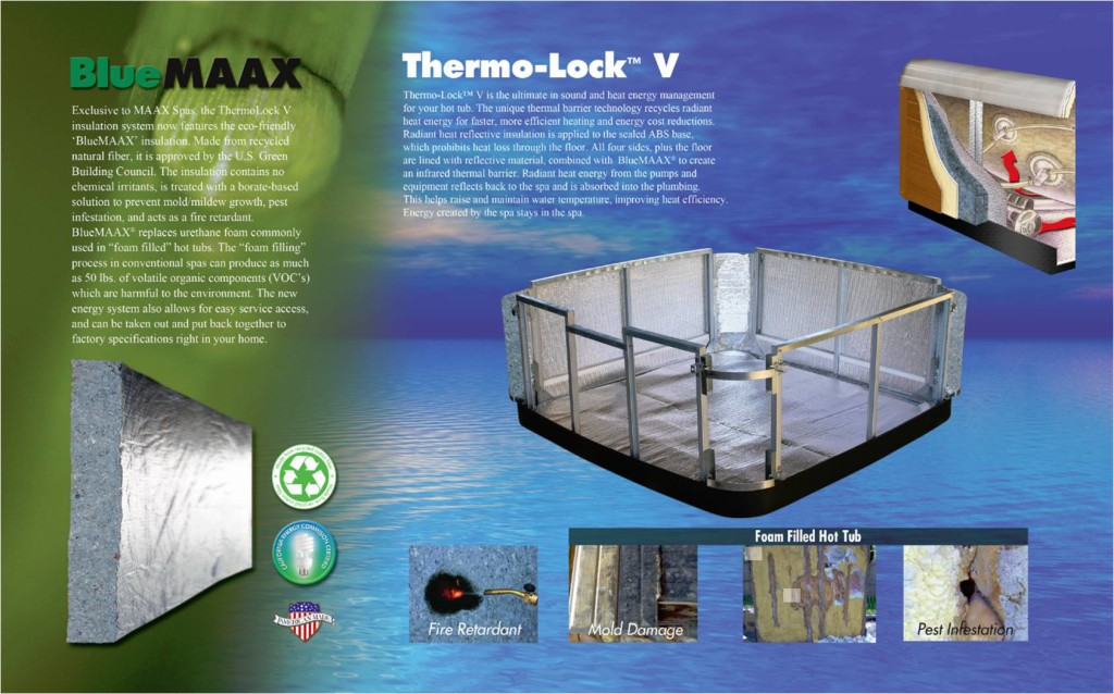 Maax Thermo-Lock and Insulation