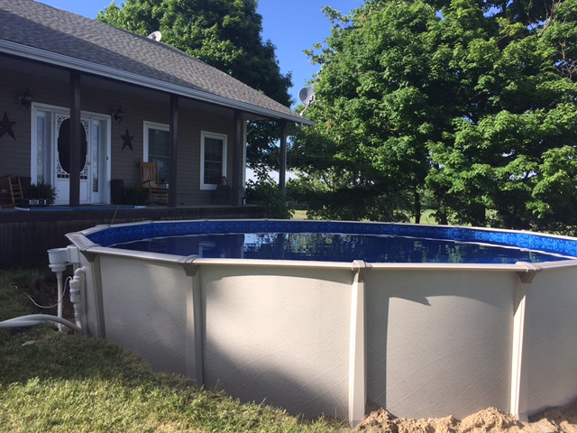 New Salt Water Pool